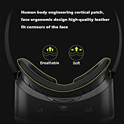 VersionTech 2nd 360° Viewing Immersive Virtual Reality Headset VR Goggle Box 3D Glasses for 3D Movies Video Games, Compatible with iPhone 7 Plus/ 6s Plus Samsung Galaxy Series and Other Smartphone