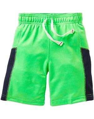 Carter's Boys Baby Green Mesh Active Shorts