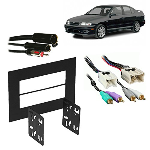 Infiniti G20 Specifications - Fits Infiniti G20 1999-2002 Double DIN Stereo Harness Radio Install Dash Kit