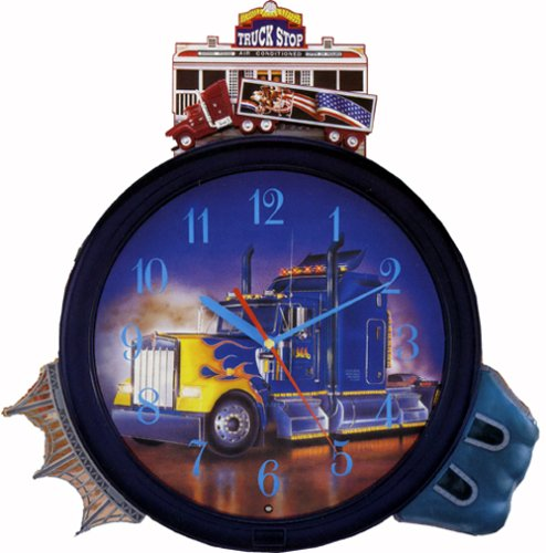 Truck Sounds Clock Hourly Action Diesel Engine Truck Sounds Clock