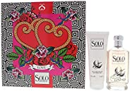 Luciano Soprani Solo Soprani Love By Luciano Soprani for Women - 2 Pc Gift Set 3.3oz Edt Spray, 3.4oz Shower G
