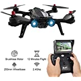 MJX B6 Bugs FPV Racing Drone 2.4GHz 4 Chanel 6 Axis Gyro With HD 720P Camera Compatible with 5.8G FPV Monitor for RC Quadcopter