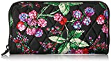 Vera Bradley Women's Rfid Georgia Wallet-Signature, Winter Berry, One Size