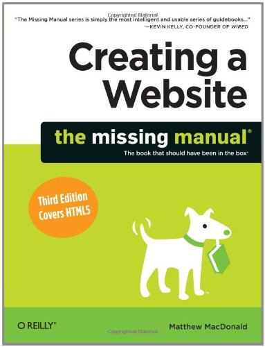 Creating a Website: The Missing (Website Design Layout)