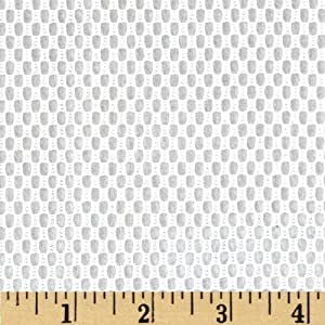 38/40'' Utility/Weavers Mesh White Fabric By The Yard