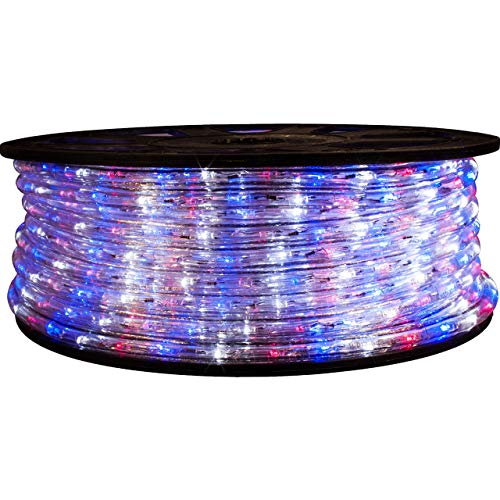 Led Rope Light Red White Blue in US - 1