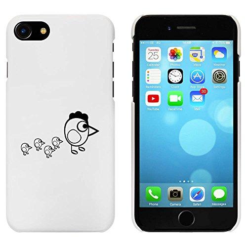 Weiß 'Huhn & Küken' Hülle für iPhone 7 (MC00073680)