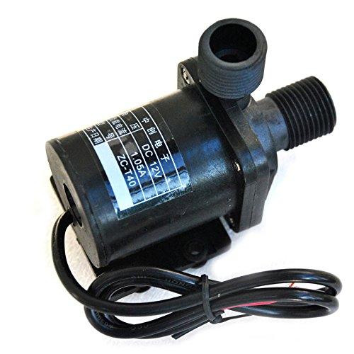 12V DC Mini Brushless Magnetic Hot Water Pump High Temp 1...