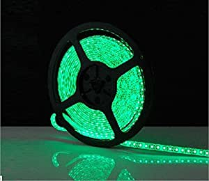 5m 3528SMD 600LED tira de luz flexible + conector de CC 12V LED tiras