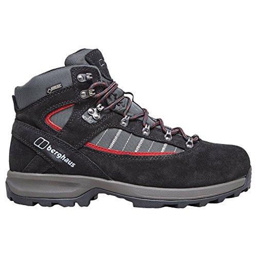 Explorer Gtx Boot - Berghaus mens Berghaus Mens Explorer Trek Plus GTX Waterproof Walking Boots, Black Black/Nova UK 7 - US 8, EU 40.5