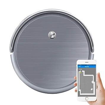 Ting Ting Robot Aspirador con Poder de succión 1800Pa, Control Mediante Smartphone App, Carga Automática, Adecuado para Suelos Duros y alfombras: Amazon.es: ...
