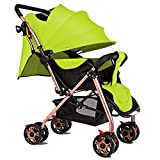 Gxinyanlong Easy to sit, Easy to Lay, Easy to Carry Baby Baby Handcart,Green