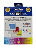 New Genuine Brother LC51/51/51C Col