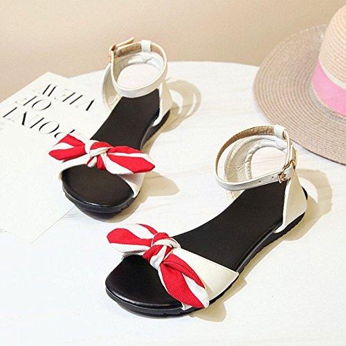 Scarpe Estate Girls White Zanpa Spiaggia Comfort xq7SASO0