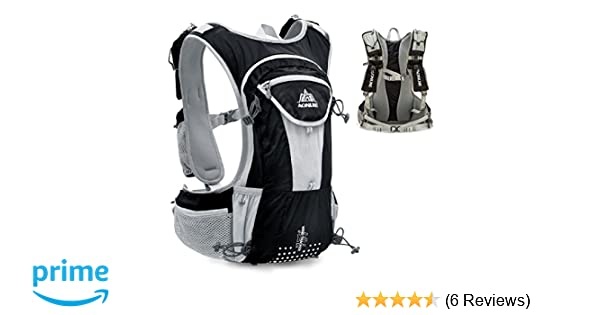Amazon.com : TRIWONDER Hydration Pack Backpack 12L Professional Outdoors Mochilas Trail Marathoner Running Race Hydration Vest (Black - Only Vest) : Sports ...