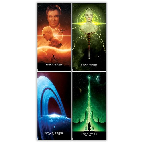 Star Trek: The Next Generation (TNG) Set of 4 Movie Posters, 12