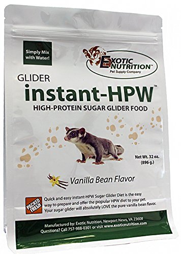 Instant-HPW High Protein Sugar Glider Food 16 (Sugar Glider Nutrition)