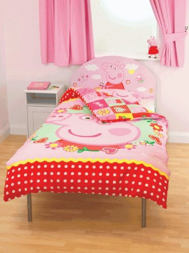 Matching Bedrooms Children's Single Size Peppa Pig Bed Frame