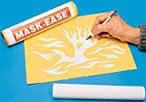 Melissa & Doug Scratch Art Mask-Ease for Cut-Out Designs on Fabric (10 x 15 inches)
