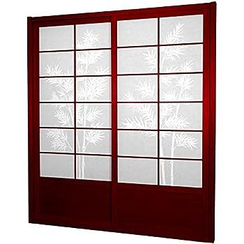 Amazon Oriental Furniture 7 Ft Tall Zen Shoji Sliding Door Kit