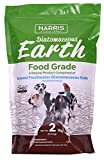 Harris Food Grade Diatomaceous Earth for Pets, Health Supplement for Cats, Dogs and Pets, 2lb
