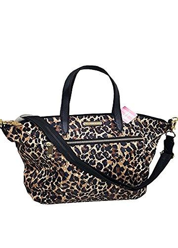 Victoria's Secret Super Model leopard tote bags