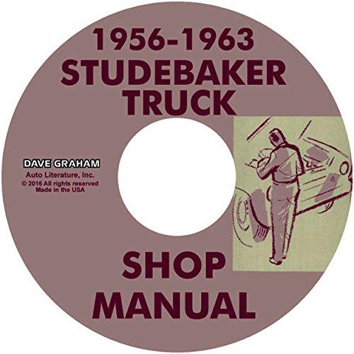 958 1959 1960 1961 1962 1963 STUDEBAKER TRUCK & PICKUP FACTORY REPAIR SHOP & SERVICE MANUAL CD ()