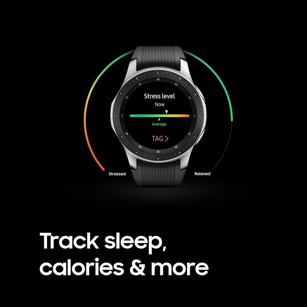 Samsung Galaxy Smartwatch (46mm) Silver (Bluetooth), SM-R800NZSAXAR - US Version with Warranty by Samsung (Image #6)