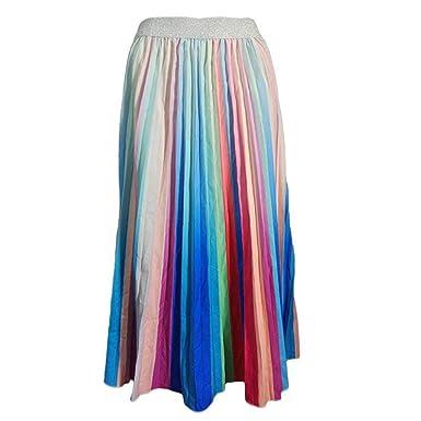 VECDY Faldas Mujer Cortas, Faldas Plisadas De Graffiti para Mujer ...