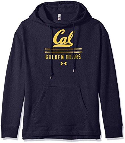 Under Armour NCAA California Golden Bears Women's Pull-Over Fleece Hoodie, Small, Navy