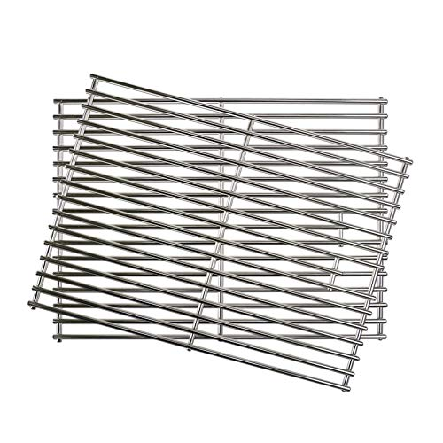 Uniflasy Stainless Steel Grill Cooking Grid Grates Replacement Parts for Home Depot Nexgrill 720-0830H, Gas Grill Grate (Set of 2)
