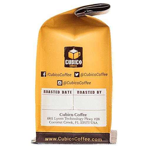 Peru Coffee - Ground Coffee - Freshly Roasted Coffee - Cubico Coffee - 12 Ounce (Single Origen Organic Cenfrocafe Peruvian Coffee)