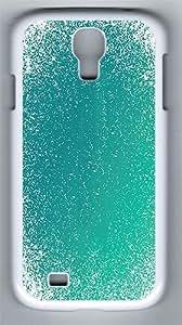 IMARTCASE Samsung Galaxy S4 Case, Aqua Blue Grunge Pattern Polycarbonate Back Case for Samsung Galaxy S4 I9500 White
