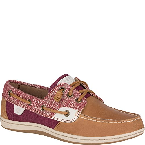 Rosewood Women's Top Sider Songfish Sperry Chambray Shoe Boat wxf0gFwWqn