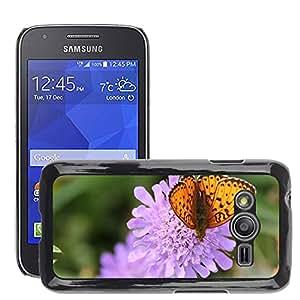 Etui Housse Coque de Protection Cover Rigide pour // M00114053 Marrón irregular Madre de perla de la // Samsung Galaxy Ace4 / Galaxy Ace 4 LTE / SM-G313F
