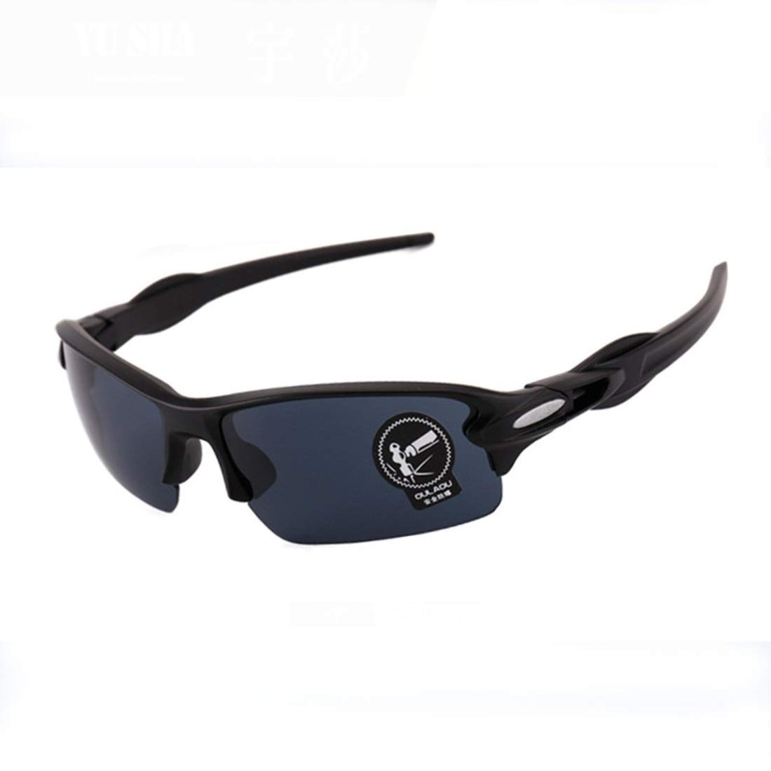 BAOYIT Outdoor Men and Women Eye Protection Glasses Sports Riding Sandblast (Color : A) by BAOYIT