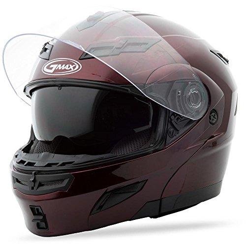 GMax GM54S Wine Modular Street Helmet - X-Large -