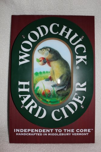 Woodchuck Cider (Woodchuck Hard Cider LED Pub Bar Sign)