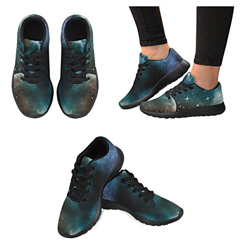 InterestPrint Womens Jogging Running Sneaker Lightweight Go Easy Walking Casual Comfort Sports Running Shoes For Women Multi 56 yZPanxje5m