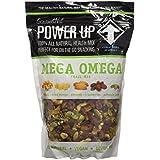 Gourmet Nut POWER UP 100% All Natural Health Mix Mega Omega Trail Mix 14oz