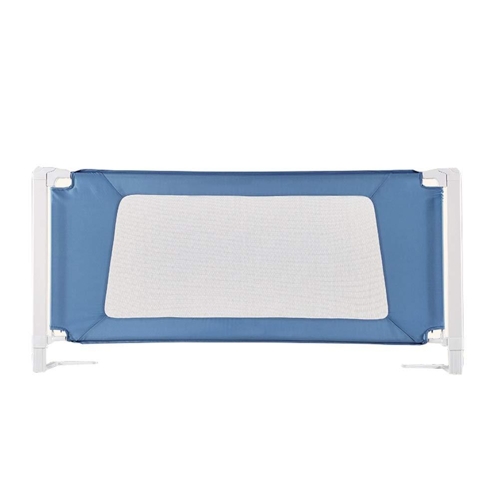 HUO ベッドフェンス ベッドフェンス 安全なベッドフェンス ベビーベッド用フェンス 子供用ベッドフェンス ベッドフェンス 組み立てが簡単 (Color : Blue, Size : 180cm) 180cm Blue B07TWBDYNP