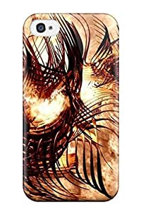 Fashion Tpu Case For Iphone 4/4s- Awesome Centurion Rage Defender Case Cover