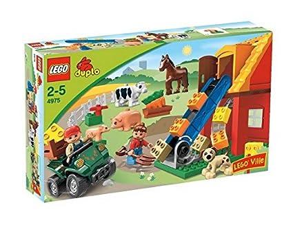 Amazoncom Lego Duplo Ville Farm 4975 Toys Games