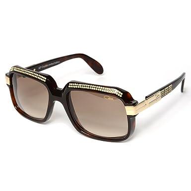 08eada32a96d Cazal 607 3 Sunglasses 607 Diamond Legend Brown (504) Authentic New   Amazon.co.uk  Clothing