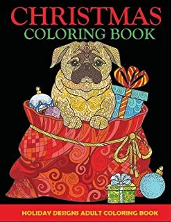 christmas coloring book adult coloring book holiday designs christmas adult coloring books