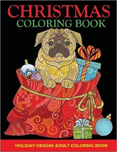 Amazon Com Christmas Coloring Book Adult Coloring Book Holiday