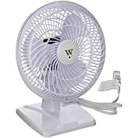 geneva industrial group lf-7dc Westpointe, 7, 1 Speed, Desk Clip Combo Fan