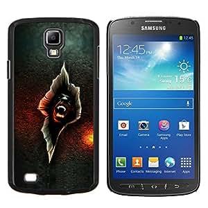EJOOY---Cubierta de la caja de protección para la piel dura ** Samsung Galaxy S4 Active i9295 ** --Vampire crack