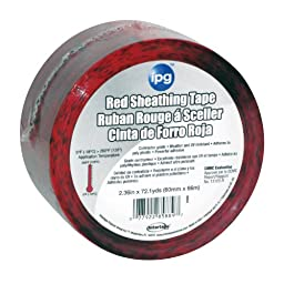 Intertape Polymer Group 85561 Sheathing Tape, 1.88-Inch x 54.6-Yard, Red