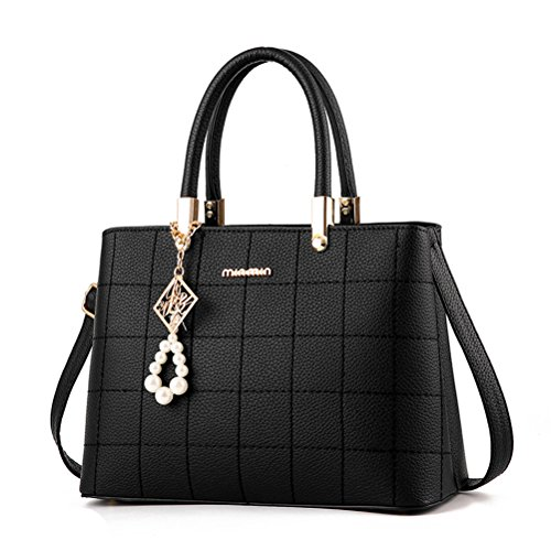 BW New Fashion Women Top Handle Satchel Handbags Tote Purse Messenger Bags ()